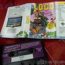 Videojuegos y Consolas: JUEGO CASETE CINTA ATARI 800XL/130XE/65XE LOCO. Lote 39006924