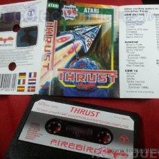 Videojuegos y Consolas: JUEGO CASETE CINTA ATARI 800XL/130XE/65XE THRUST. Lote 39006944
