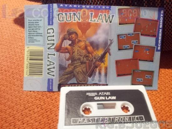 Juego Casete Cinta Atari 800xl 130xe 65xe Gun L Comprar