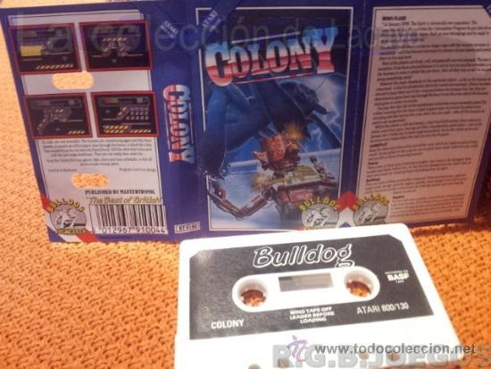 Juego Casete Cinta Atari 800xl 130xe 65xe Colon Comprar