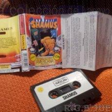 Videojuegos y Consolas: JUEGO CASETE CINTA ATARI 800XL/130XE/65XE SHAMUS. Lote 39014519