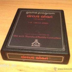 Videojuegos y Consolas: CIRCUS ATARI JUEGO PARA ATARI 2600 PAL CARTUCHO EN . Lote 40098595