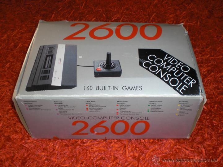Video Computer Console 2600 Clon Atari 2600 160 Comprar