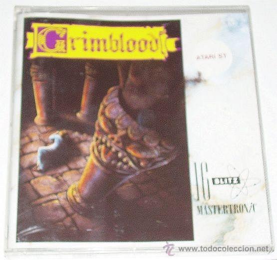 GRIMBLOOD [MAELSTROM GAMES] 1990 [VIRGIN / 16BLITZ] [ATARI ST] (Juguetes - Videojuegos y Consolas - Atari)
