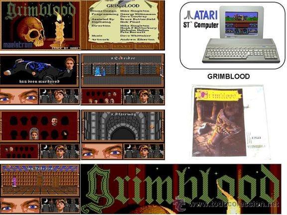 Videojuegos y Consolas: Grimblood [Maelstrom Games] 1990 [Virgin / 16blitz] [ATARI ST] - Foto 2 - 41470914
