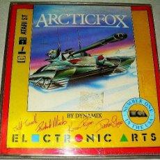 Videojuegos y Consolas: ARCTICFOX [DYNAMIX] [ELECTRONIC ARTS] [1985 / 1986] [ATARI ST] ARCTIC FOX FPS. Lote 41471376