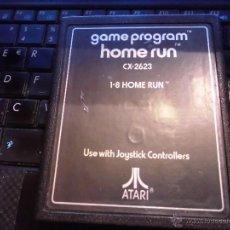Videojuegos y Consolas: JUEGO VIDEO CONSOLA ATARI 2600, HOME RUN,SOLO CARTUCHO. Lote 42358885