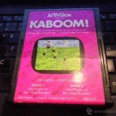 Videojuegos y Consolas: JUEGO VIDEO CONSOLA ATARI 2600,KABOOM,SOLO CARTUCHO. Lote 42358888