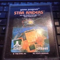 Videojuegos y Consolas: JUEGO VIDEO CONSOLA ATARI 2600,STAR RAIDERS, SOLO CARTUCHO. Lote 42358912