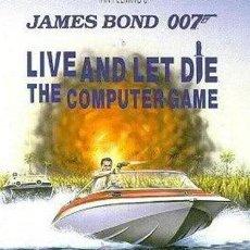 Videojuegos y Consolas: JAMES BOND 007 LIVE & LET DIE - (DOMARK) (1988) [ATARI ST] VIVE Y DEJA MORIR. Lote 45705320