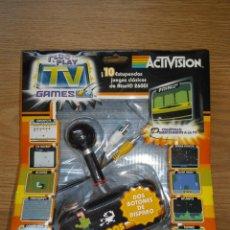 Videojuegos y Consolas: MANDO ACTIVISION PLUG & PLAY TV GAMES 10 JUEGOS ATARI 2600 NUEVO Y PRECINTADO. Lote 98510954