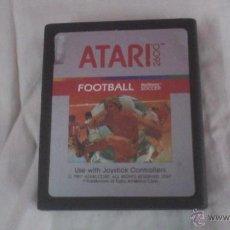 Videojuegos y Consolas: JJ. JUEGO ATARI FOOTBALL SOCCER ATARI 2600. Lote 45375678