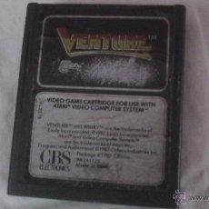 Videojuegos y Consolas: JJ. JUEGO ATARI ATARI VENTURE CBS 1983. Lote 45376315