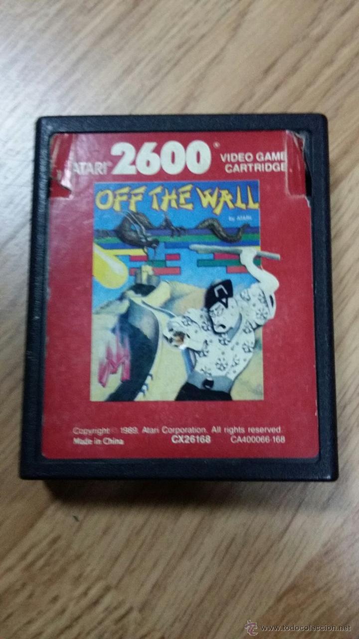 JUEGO DE ATARI OFF THE WALL (Juguetes - Videojuegos y Consolas - Atari)