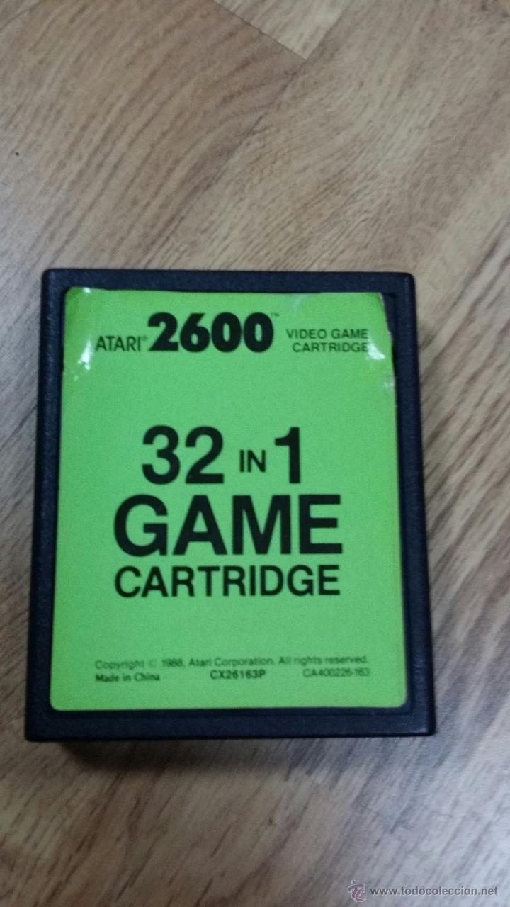 JUEGO DE ATARI 32 IN 1 GAME CARTRIDGE (Juguetes - Videojuegos y Consolas - Atari)