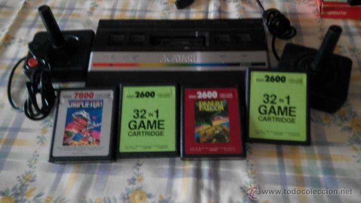 Consola Atari 2600 Con Juegos Comprar Videojuegos Y Consolas Atari