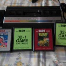 Videojuegos y Consolas: CONSOLA ATARI 2600 CON JUEGOS . Lote 46039056