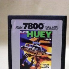 Videojuegos y Consolas: JUEGO PARA ATARI 7800, SUPER HUEY, UH-IX, 1988, VIDEO GAME, CARTRIDGE, SIMULADOR HELICOPTERO. Lote 46445615