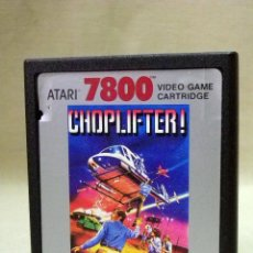 Videojuegos y Consolas: JUEGO PARA ATARI 7800, CHOPLIFTER, 1987, VIDEO GAME, CARTRIDGE. Lote 46445709