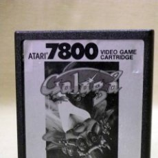 Videojuegos y Consolas: JUEGO PARA ATARI 7800, GALAGA, 1987, VIDEO GAME, CARTRIDGE. Lote 46445787