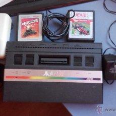 Videojuegos y Consolas: CONSOLA ATARI 2600 CON JUEGOS. Lote 47424727