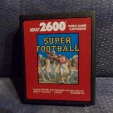 Videojuegos y Consolas: JUEGO ATARI 2600, SUPER FOOTBALL,SOLO CARTUCHO. Lote 47686906