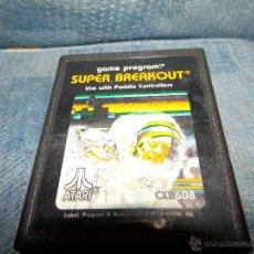 Videojuegos y Consolas: JUEGO ATARI 2600, SUPER BREAKOUT,SOLO CARTUCHO. Lote 47686935