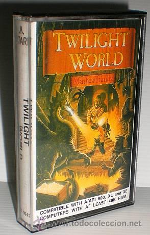 TWILIGHT WORLD [MATTHEW TRIMBY] 1986 ATARI U.K. [ATARI 600 / 800 / XL / XE] (Juguetes - Videojuegos y Consolas - Atari)