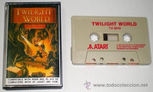 Videojuegos y Consolas: Twilight World [Matthew Trimby] 1986 ATARI U.K. [ATARI 600 / 800 / XL / XE] - Foto 3 - 48305885