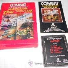 Videojuegos y Consolas: JUEGO GAME PROGRAM COMBAT DE ATARI, CON INSTRUCCIONES. Lote 48405799