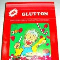 Videojuegos y Consolas: GLUTTON / PLAQUE ATTACK (T.C.B EDITION) [ACTIVISION] 1983 [ATARI VCS / 2600]. Lote 48501480