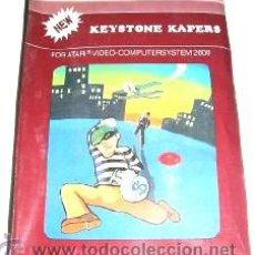 Videojuegos y Consolas: KEYSTONE KAPERS [TAIWAN C.B EDITION] ACTIVISION 1983 (ATARI 2600 VCS). Lote 73482209