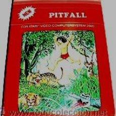Videojuegos y Consolas: PITFALL / PITFALL! (T.C.B EDITION) [ACTIVISION] 1982 [ATARI VCS / 2600]. Lote 48502828