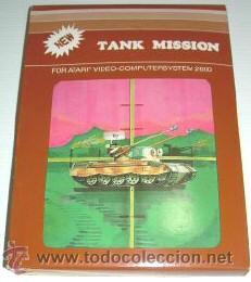TANK MISSION / THUNDERGROUND (T.C.B EDITION) [SEGA] 1983 [ATARI VCS / 2600] (Juguetes - Videojuegos y Consolas - Atari)