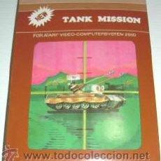 Videojuegos y Consolas: TANK MISSION / THUNDERGROUND (T.C.B EDITION) [SEGA] 1983 [ATARI VCS / 2600]. Lote 48503690