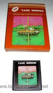 Videojuegos y Consolas: Tank Mission / Thunderground (T.C.B Edition) [SEGA] 1983 [ATARI VCS / 2600] - Foto 2 - 48503690