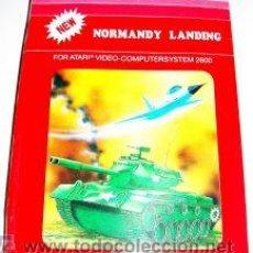 Videojuegos y Consolas: NORMANDY LANDING / COMMANDO RAID (T.C.B EDITION) [US GAME 1982] [ATARI VCS / 2600]. Lote 48550323