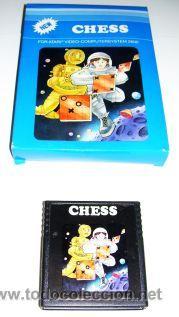 Videojuegos y Consolas: Chess / Othello (T.C.B Edition) [ATARI 1981] [ATARI VCS / 2600] Otelo - Foto 2 - 48550831