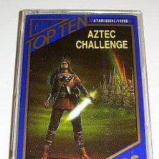 Videojuegos y Consolas: AZTEC CHALLENGE [COSMI] 1983 [TOP TEN HITS] [ATARI 600 / 800 / XL / XE] ROBERT T. BONIFACIO. Lote 49666858