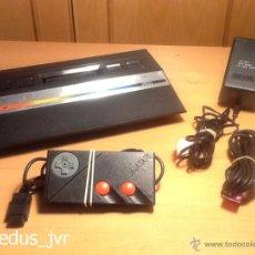 Videojuegos y Consolas: CONSOLA ATARI 2600 JR. SLIM PAL ORIGINAL COMPLETA PARA REPARAR O PIEZAS. Lote 50639608
