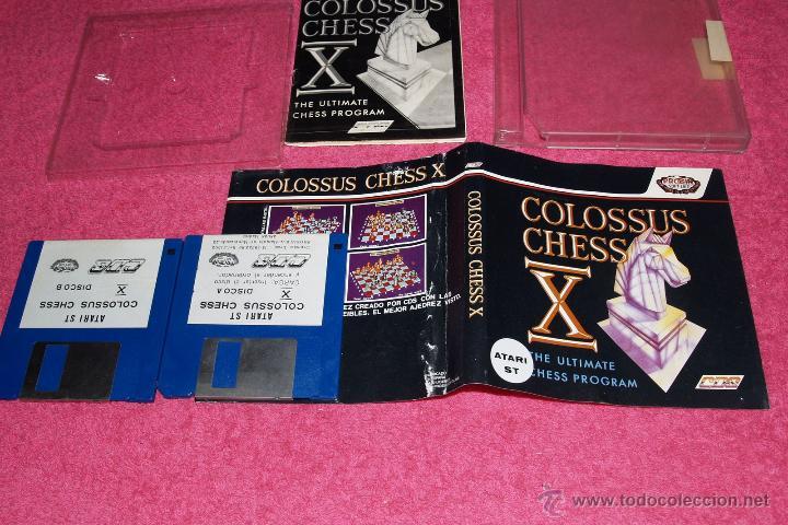 GAME FOR ATARI ST PROEIN SOFT LINE COLOSUS CHESS X SPANISH VERSION (Juguetes - Videojuegos y Consolas - Atari)