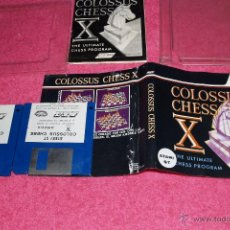 Videojuegos y Consolas: GAME FOR ATARI ST PROEIN SOFT LINE COLOSUS CHESS X SPANISH VERSION. Lote 51794052