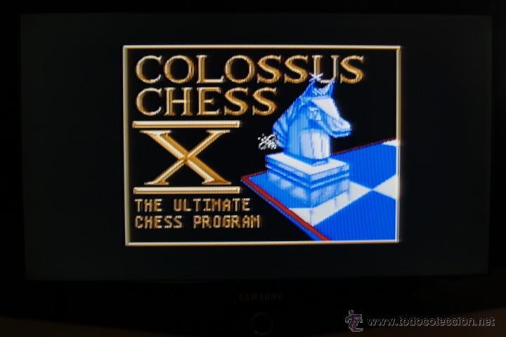 Videojuegos y Consolas: GAME FOR ATARI ST PROEIN SOFT LINE COLOSUS CHESS X SPANISH VERSION - Foto 3 - 51794052
