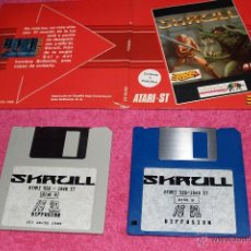 Videojuegos y Consolas: GAME FOR ATARI ST ERBE SKRULL SPANISH VERSION 1989 BY 16 32. Lote 51794485
