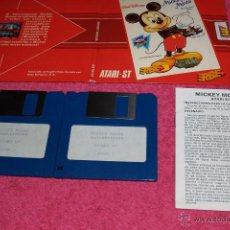 Videojuegos y Consolas: GAME FOR ATARI ST ERBE MICKEY MOUSE SPANISH VERSION 1988 BY GREMLIN. Lote 51794513