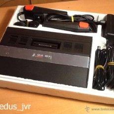 Videojuegos y Consolas: LOTE CONSOLA ATARI 2600 JR CON EMBALAJE Y MANUALES + JUEGO HANGMAN RARA VERSIÓN EN MUY BUEN ESTADO. Lote 52024494