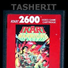Videojuegos y Consolas: IKARI WARRIORS - ATARI 2600 CARTUCHO CONSOLA RETRO. Lote 52133480