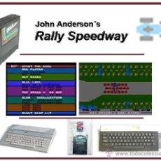 Videojuegos y Consolas: JOHN ANDERSON´S RALLY SPEEDWAY [CARTUCHO E INSTRUCCIONES] [SELLADO] ATARI 400 800 XE XL 8BITS [1983]. Lote 28389408
