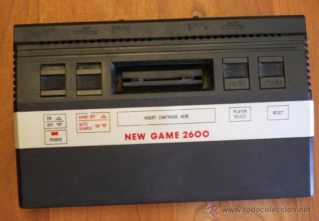 Videojuegos y Consolas: Consola clónica tipo atari NEW GAME 2600. - Foto 2 - 52558822