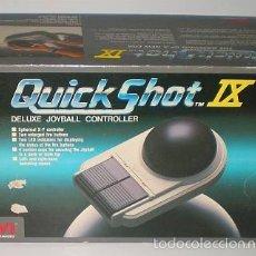 Videojuegos y Consolas: QUICKSHOT IX [SPECTRAVIDEO SVI] JOYBALL DELUXE JOYSTICK CONTROLLER [9 NUEVE]. Lote 55319100